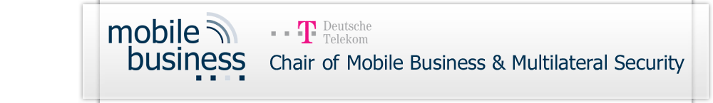 Deutsche Telekom Chair of Mobile Business & Multilateral Security
